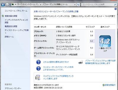 sWindows7エクスペリエンスインデックス評価結果.jpg